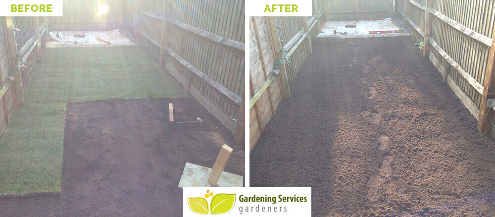 HA2 lawn edging Harrow