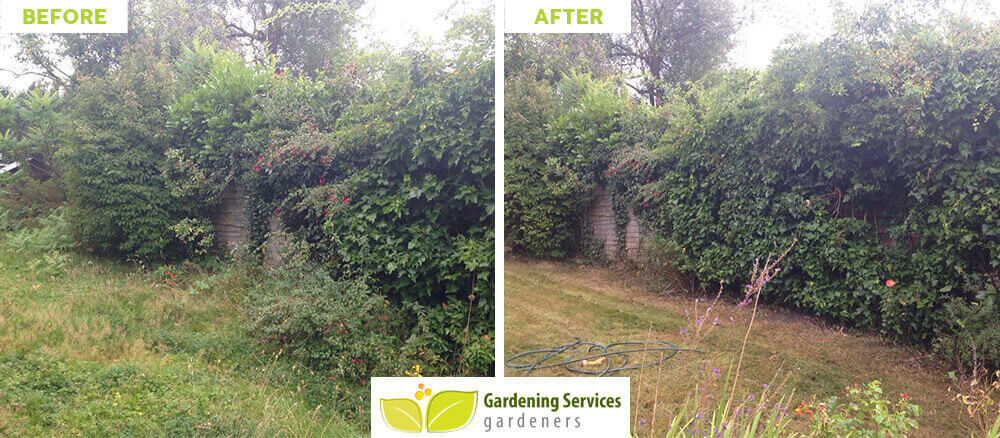 Gidea Park garden cleaning services RM2