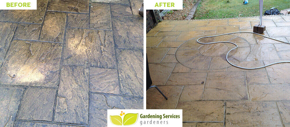 front garden landscaping Leatherhead