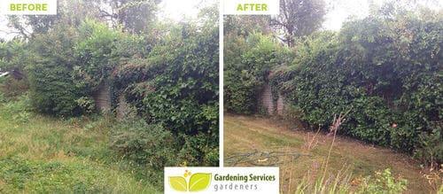 front garden landscaping South Kensington