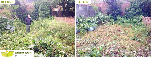DA7 garden edging Nurthumberland Heath