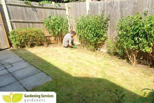 City garden clean up EC2