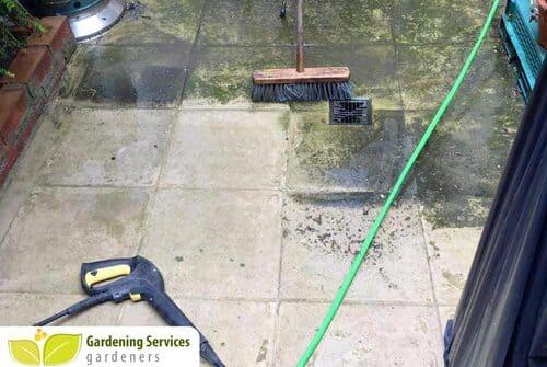 N1 garden edging Canonbury