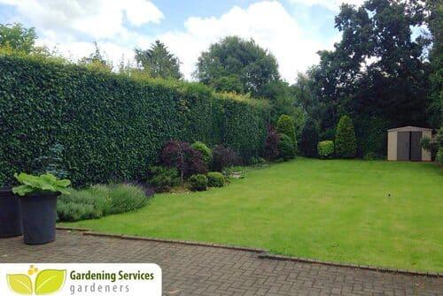SE1 garden edging Elephant and Castle