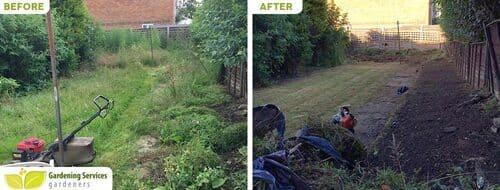Peckham Rye garden clean up SE15