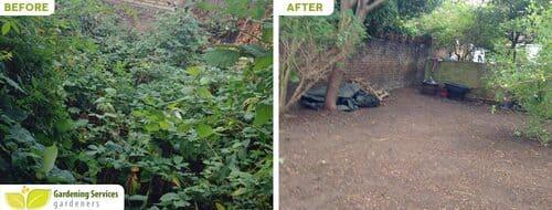 SE20 garden edging Anerley