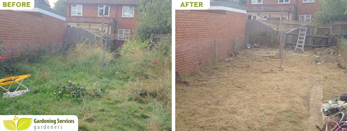 SE6 garden edging Catford