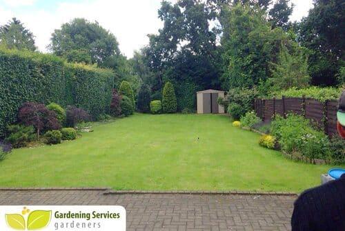 Catford garden planner SE6 gardeners