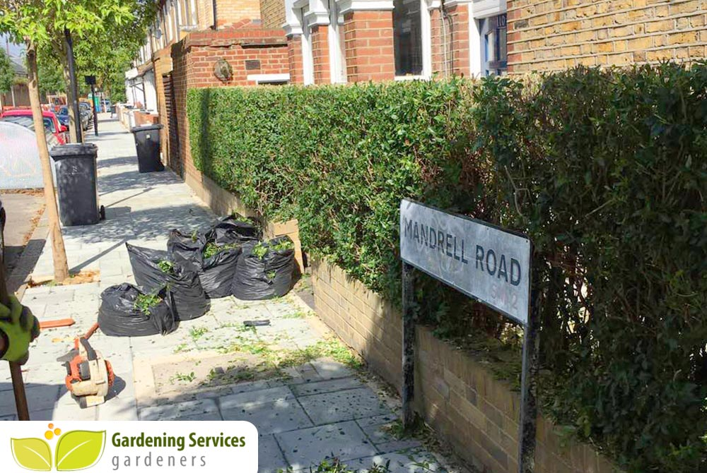 SW15 garden edging Putney