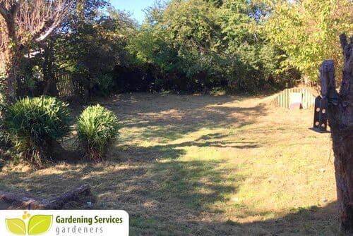 Stockwell design a garden