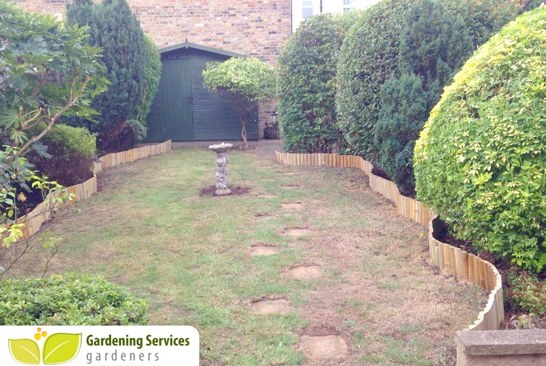 Acton Ealing garden clean up W3