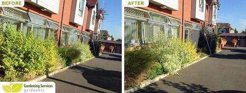 WD5 garden edging Rickmansworth