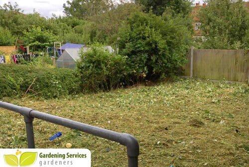 Belvedere garden clearance DA17