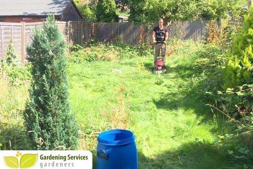 Millwall gardening company E14